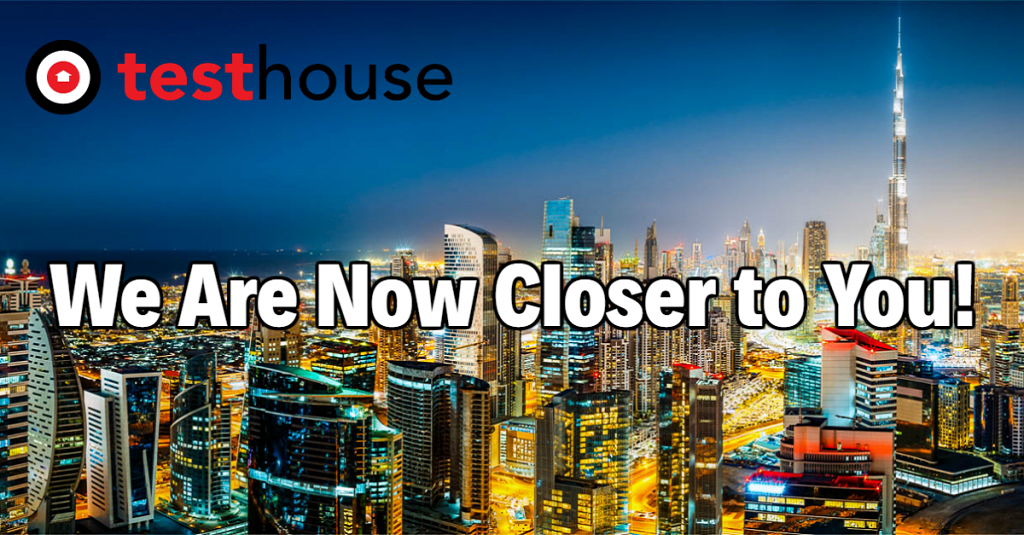 Testhouse Opens New Office in Dubai, United Arab Emirates