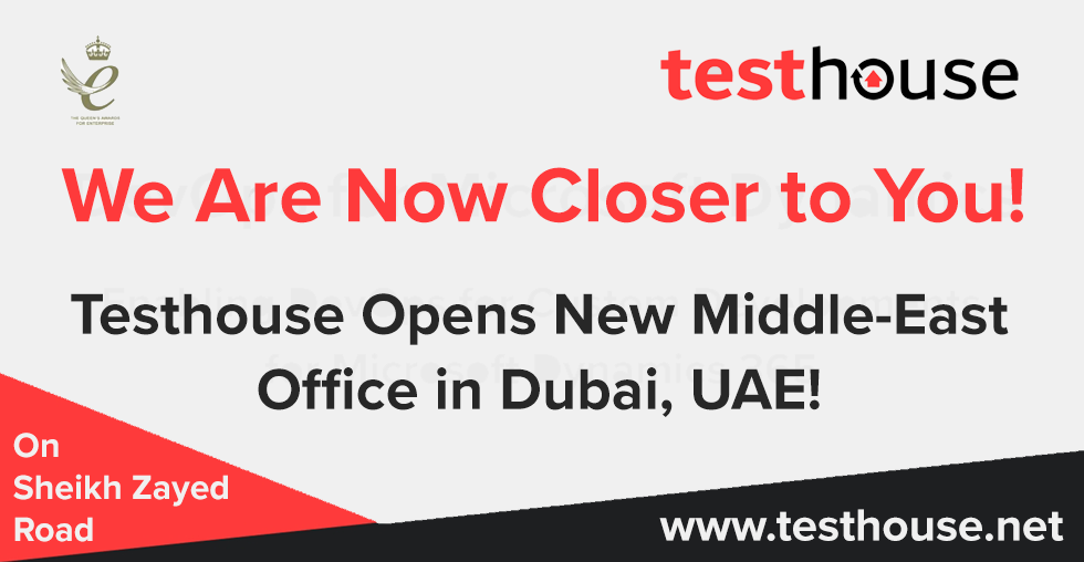Testhouse Opens New Office in Dubai, UAE