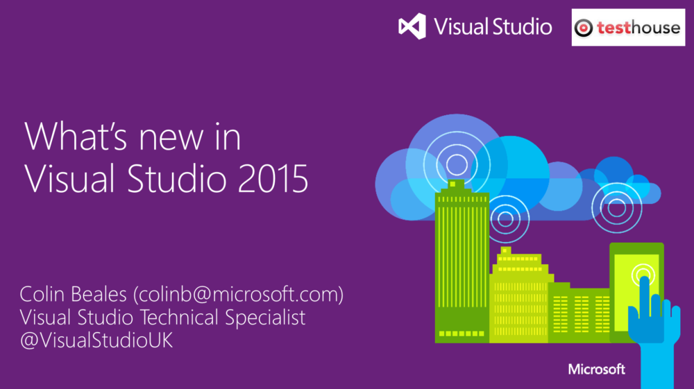Visual Studio & TFS 2015 New Features
